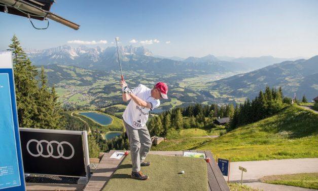 In juni staat Kitzbühel in het teken van de golfsport