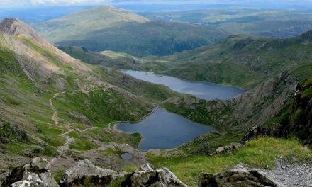 Dwars door Noord- en Zuid-Wales