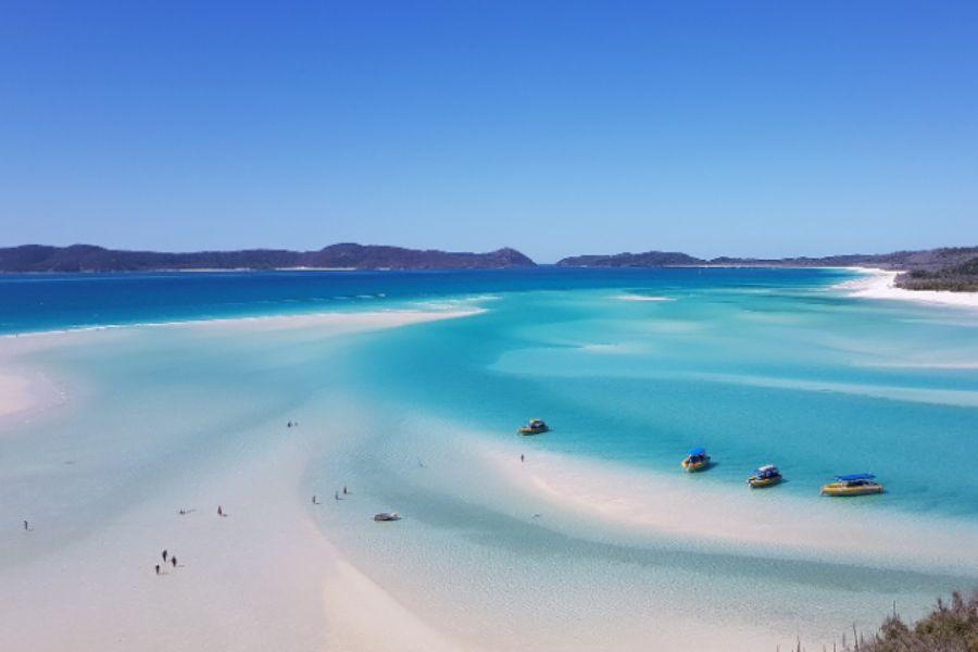 De 5 mooiste stranden ter wereld